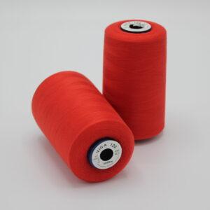 Ompelulanka VIGA 120 Kirkas punainen / 0212