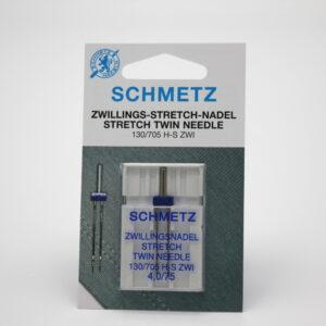 Schmetz 130/705 H STRETCH TWIN 4,0/75 Kaksoisneula pallokärjellä