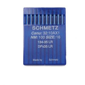 Schmetz 134-35 LR Nahkaneula kolmisyöttökoneisiin