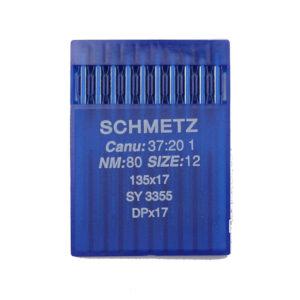 Schmetz 135×17 R Yleisneula kolmisyöttökoneisiin