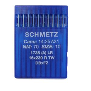 Schmetz 1738 LR Nahkaneula teollisuuskoneisiin