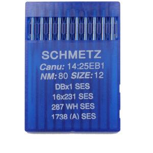 Schmetz 1738 SES Pallokärkineula teollisuuskoneisiin