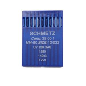 Schmetz UY 128 GAS 80 Peitetikkikoneen neula