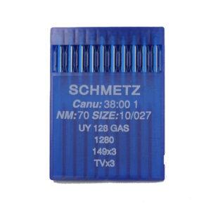 Schmetz UY 128 GAS 70 Peitetikkikoneen neula
