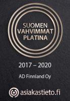 Suomen vahvimmat - AD Finnland Oy - 2017-2020